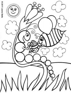 Free printable colouring page for Easter.