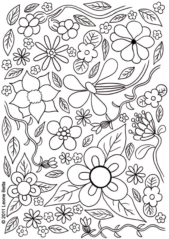 Free Printable Kids Colouring