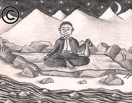 The Sandman - an illustration by Leone Annabella Betts